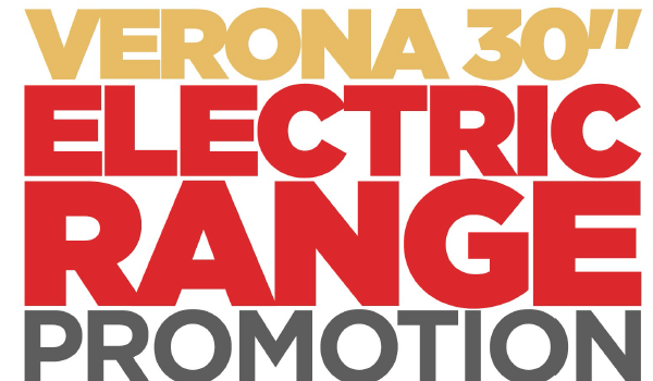 Verona 30″ Electric Range Promotion