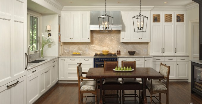 European inspired kitchen made complete with ILVE