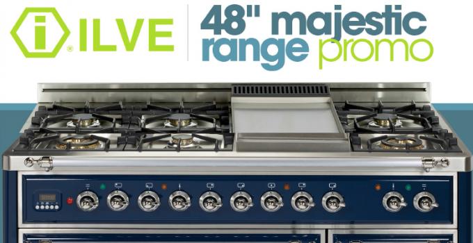 ILVE 48″ Majestic Range Promotion