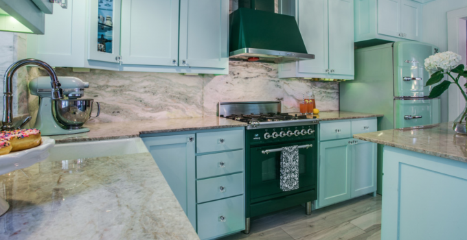 Colored Appliances Set The Mood for Kitchen Designs