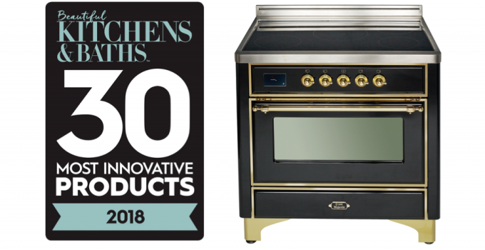 ILVE Majestic II Induction Range Named BEAUTIFUL KITCHENS & BATHS 30 Most Innovative Products Award Winner