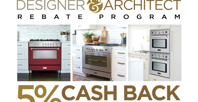 Verona Designer and Architect Rebate Program